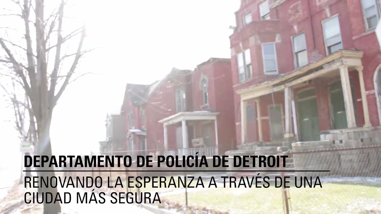 El Departamento de Policía de Detroit - CommandCentral Aware