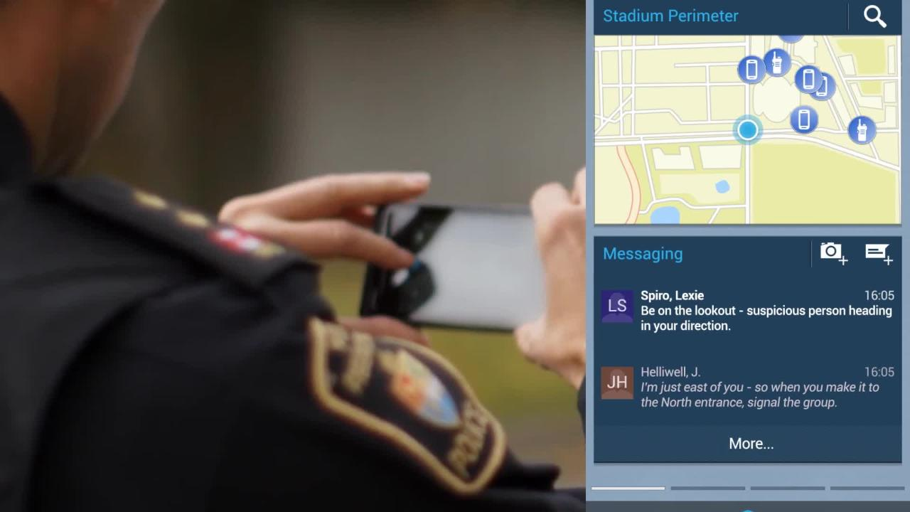 The Future of Public Safety: Mobile Apps