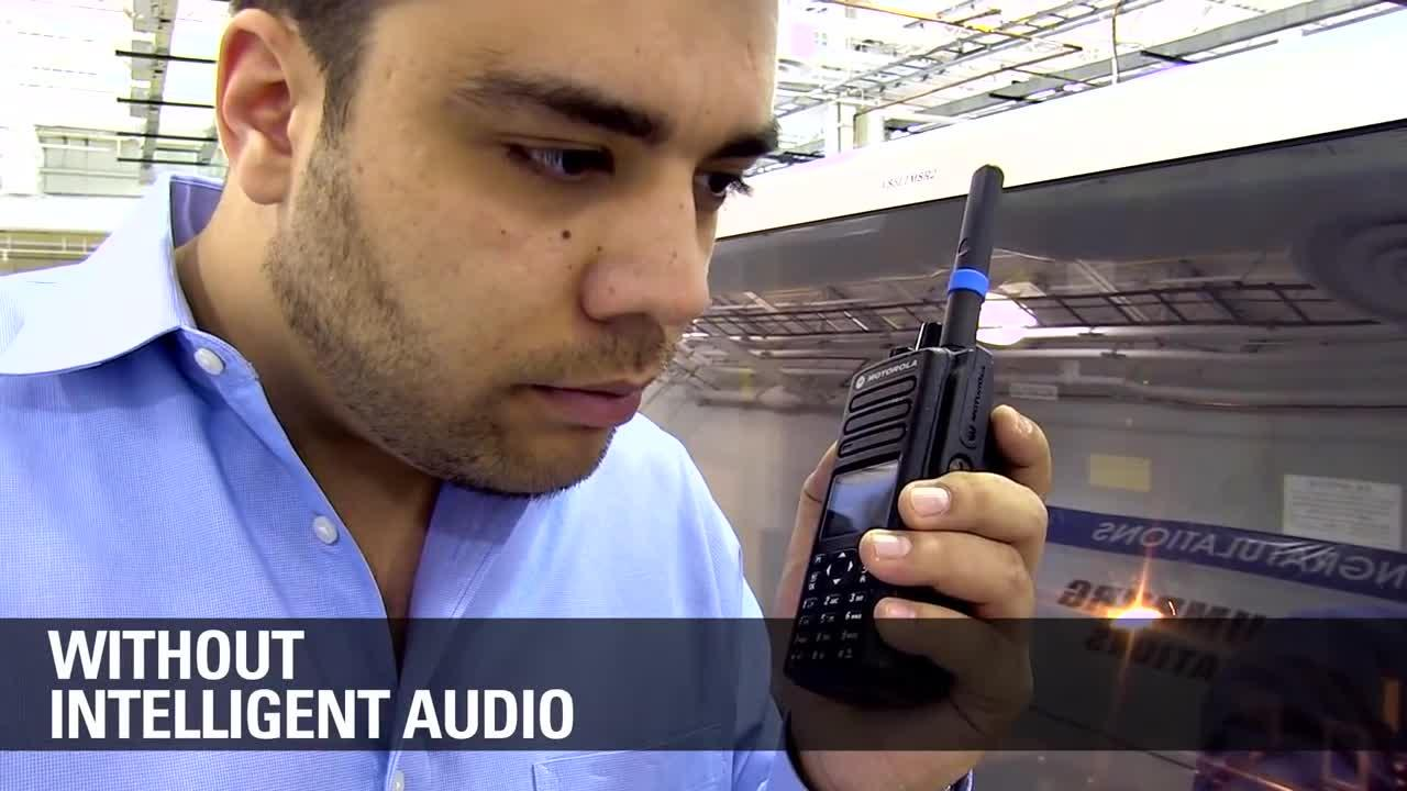 MOTOTRBO Intelligent Audio