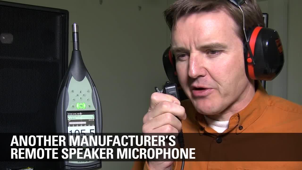 MOTOTRBO INC Remote Speaker Microphone