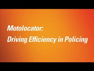 Motolocator: Driving Efficiency in Policing