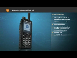 MTP850 FuG German Product Tour