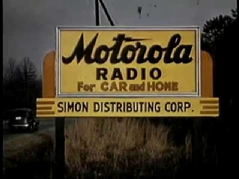 Motorola Car Radio Advertising: A Retrospective