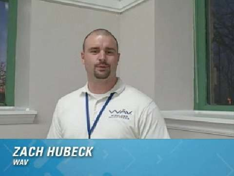 One-minute Customer Testimonial: Zach Hubeck, WAV