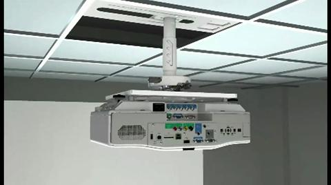 Epson Advanced Projector Ceiling Mount with Precision Gear (ELPMBPRG)