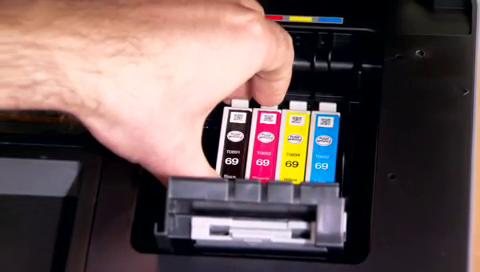 How to Replace Ink for the NX515, WF310, WF610, and WF1100