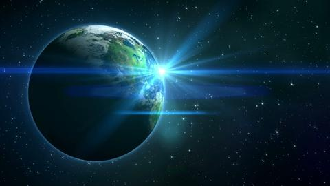 Earth Flare Space 2