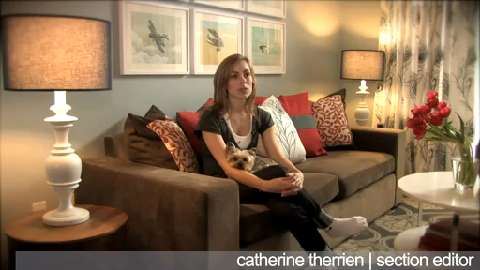 Home tour: Inside Catherine Therrien's townhouse